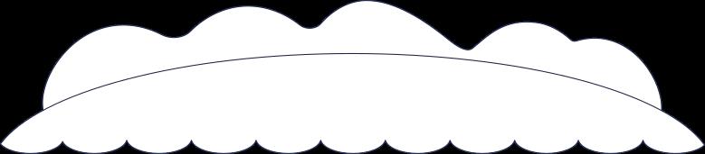 message sent  island background line Clipart illustration in PNG, SVG