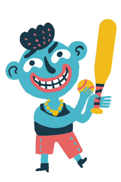 style Baseball boy images in PNG and SVG | Icons8 Illustrations