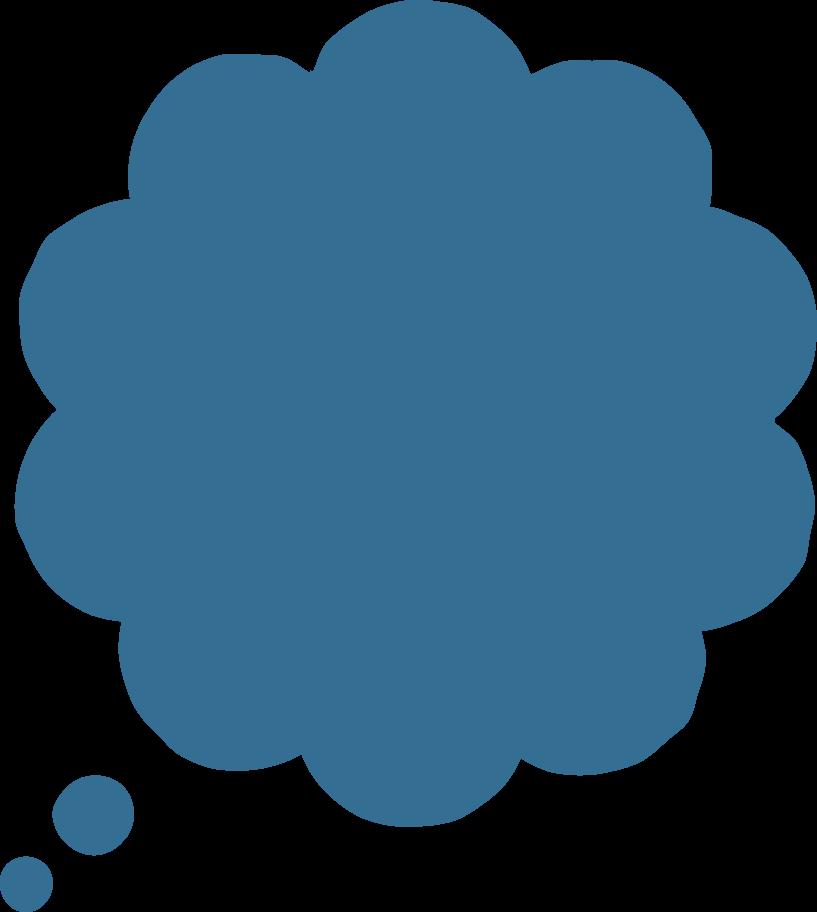 Ilustración de clipart de burbuja de diálogo- en PNG, SVG