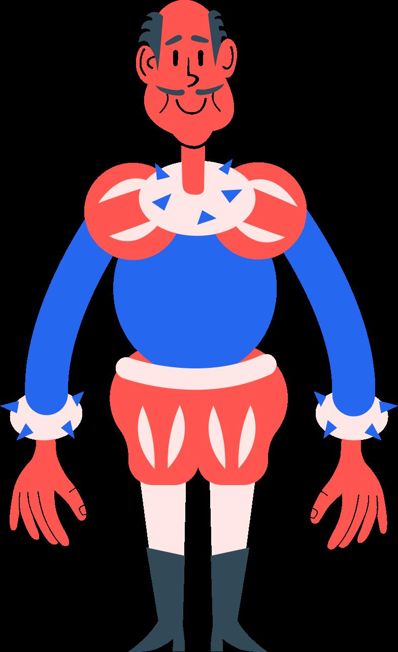 man stands Clipart illustration in PNG, SVG