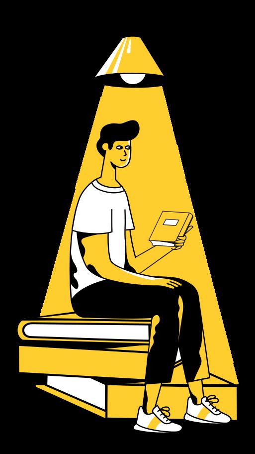 Style  En train de lire Images vectorielles en PNG et SVG | Icons8 Illustrations