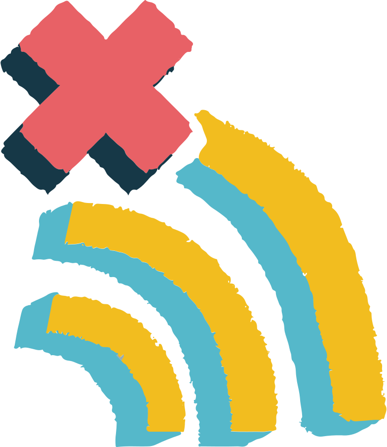 no wi-fi Clipart illustration in PNG, SVG