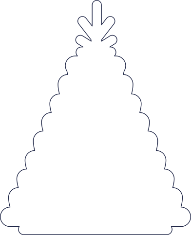 style new year tree images in PNG and SVG | Icons8 Illustrations