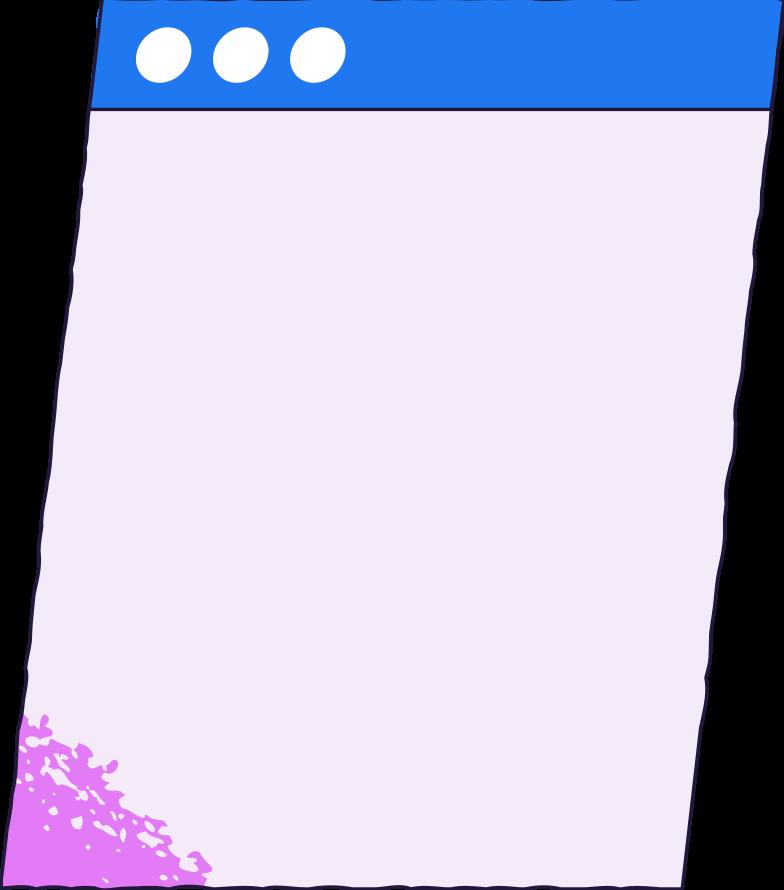 design  browser window Clipart illustration in PNG, SVG