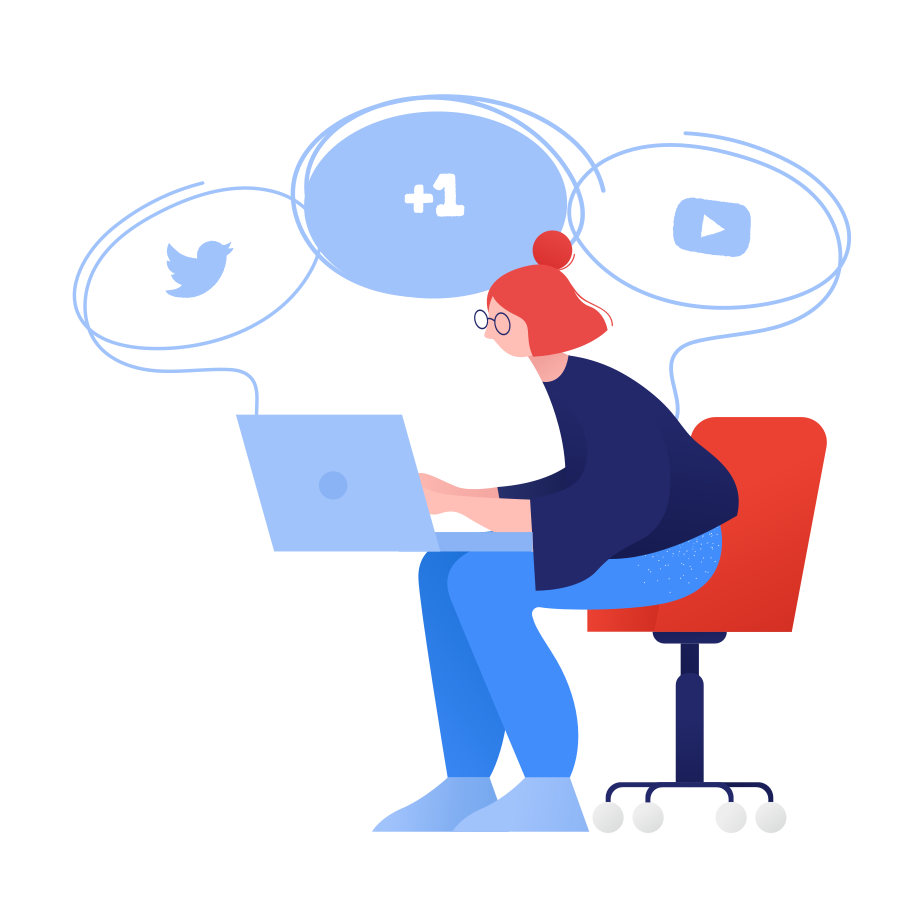 style Social media  Vector images in PNG and SVG | Icons8 Illustrations