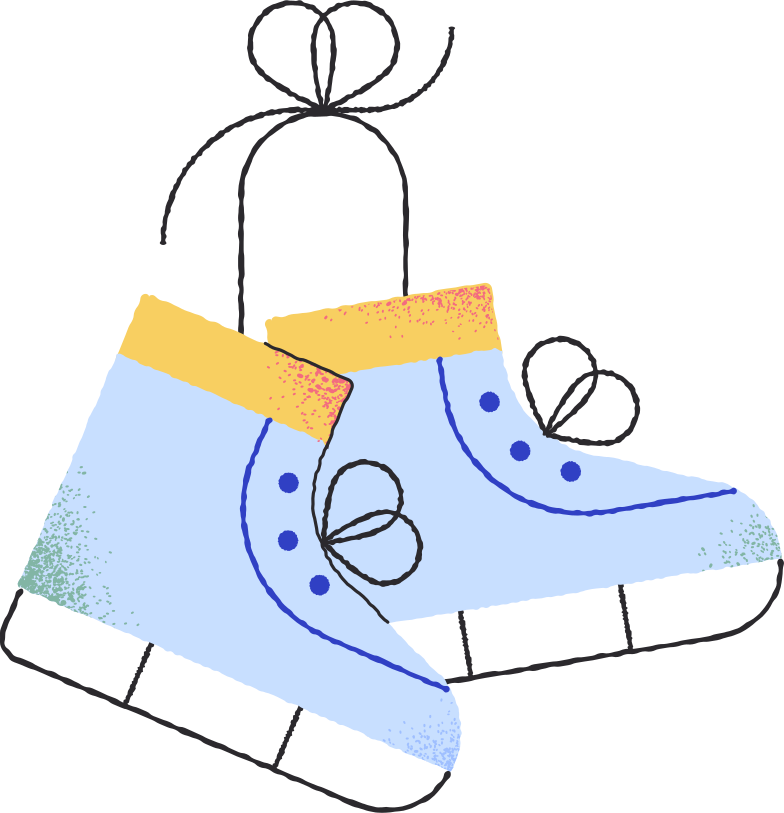 style ice skates Vector images in PNG and SVG | Icons8 Illustrations