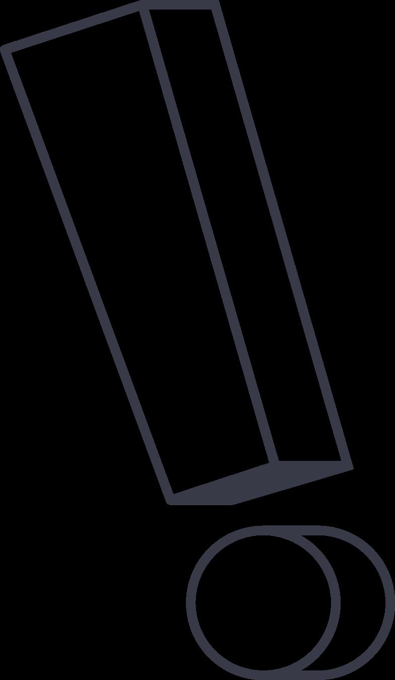 Иллюстрация восклицательный знак в стиле  в PNG и SVG | Icons8 Иллюстрации