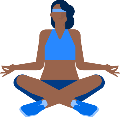 style yoga woman images in PNG and SVG | Icons8 Illustrations