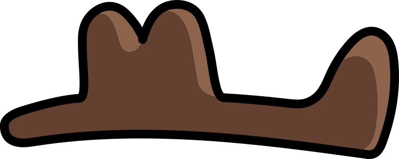 western hat Clipart illustration in PNG, SVG