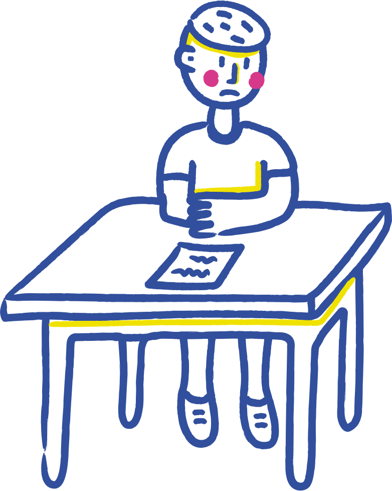 style sad student Vector images in PNG and SVG | Icons8 Illustrations