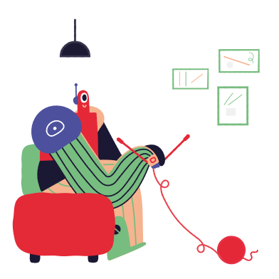 style Knitting robot images in PNG and SVG | Icons8 Illustrations