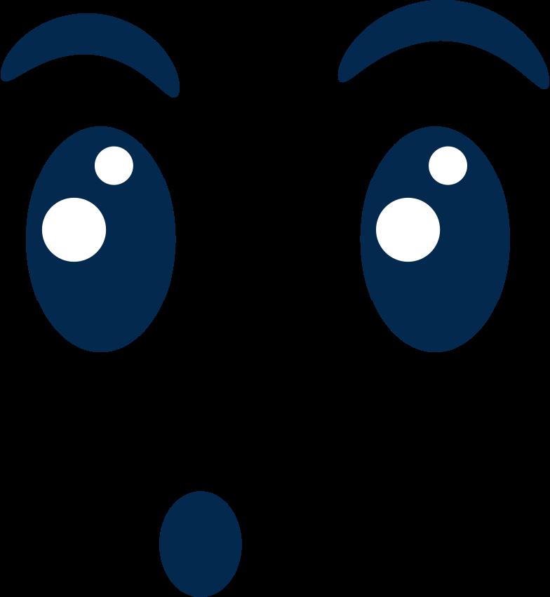 emotion surprised Clipart illustration in PNG, SVG