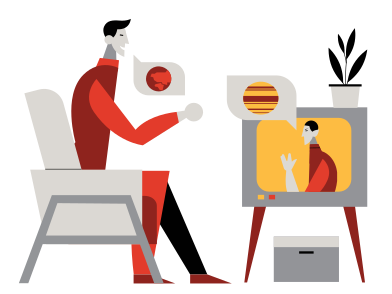 style There is a contact! images in PNG and SVG | Icons8 Illustrations