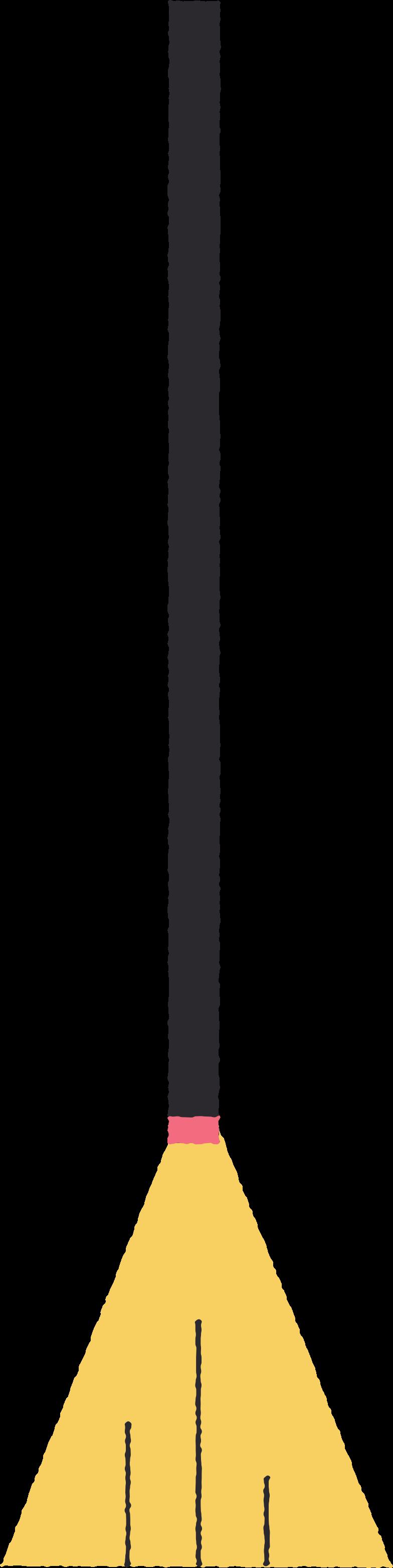 Ilustración de clipart de broom en PNG, SVG