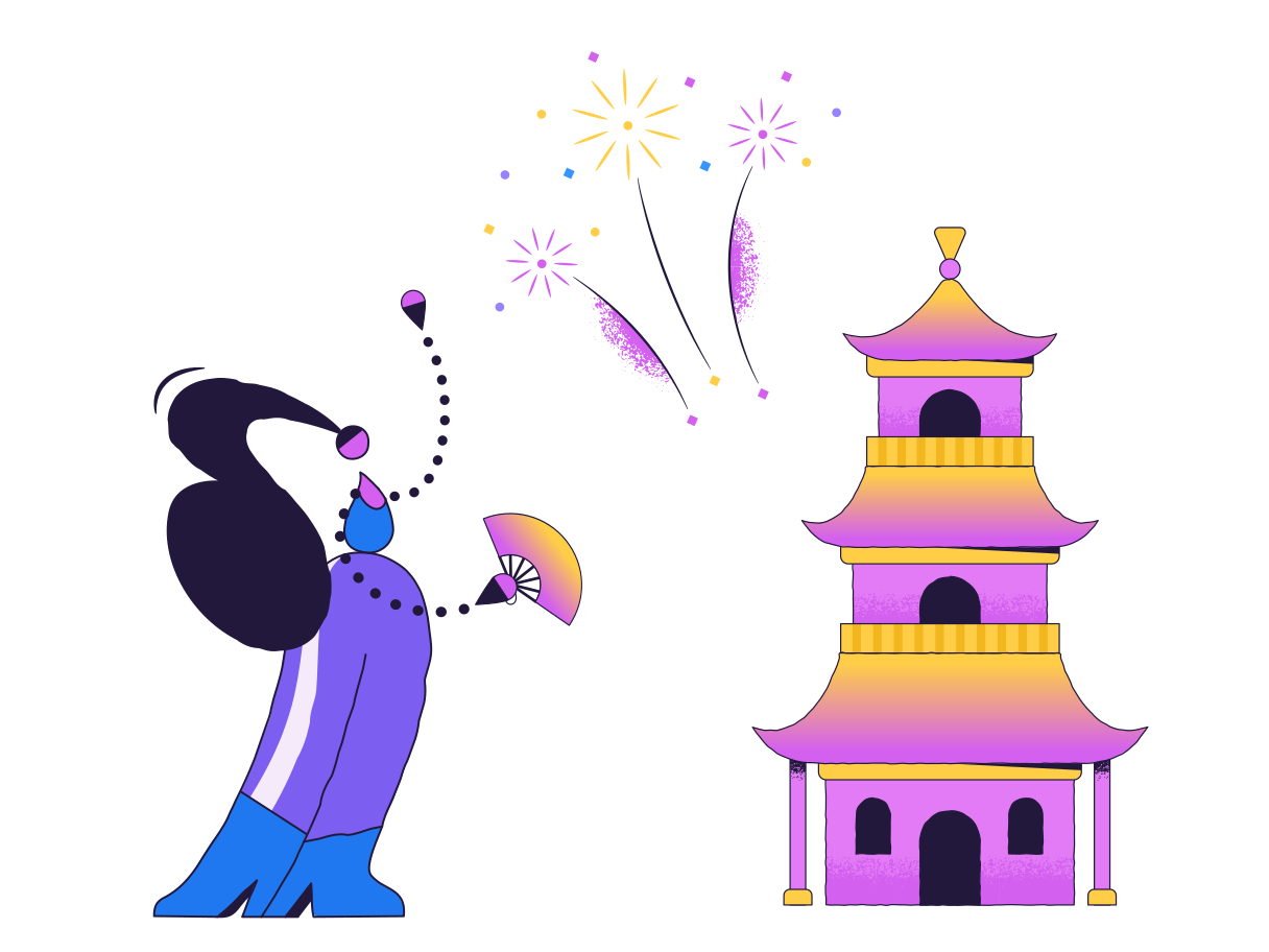 Chinese New Year Clipart illustration in PNG, SVG