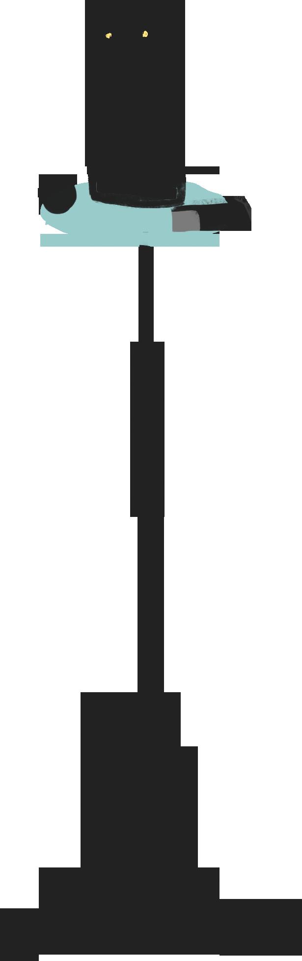 cat sculpture Clipart illustration in PNG, SVG