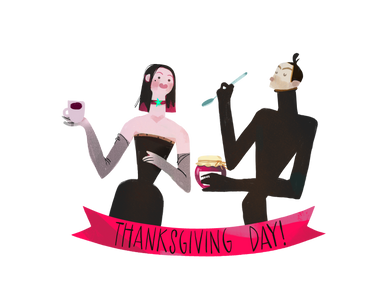 style Thanksgiving day meeting images in PNG and SVG | Icons8 Illustrations