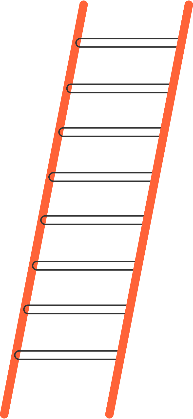staircase Clipart illustration in PNG, SVG