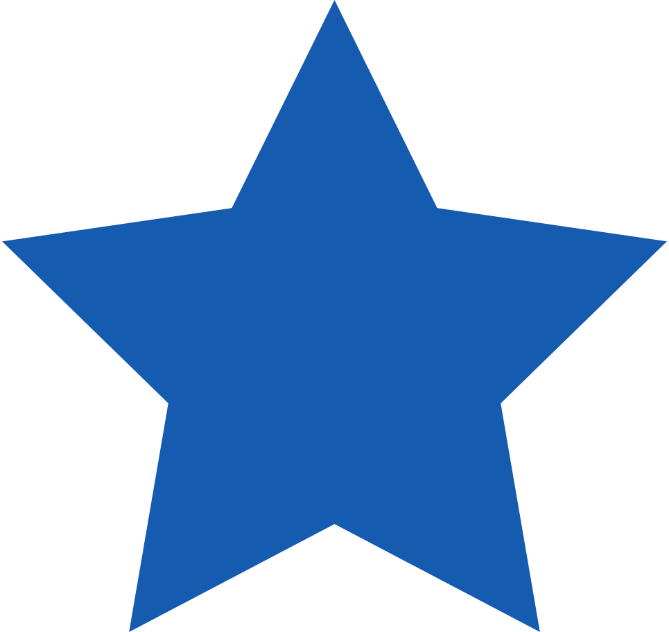 star-blue Clipart illustration in PNG, SVG