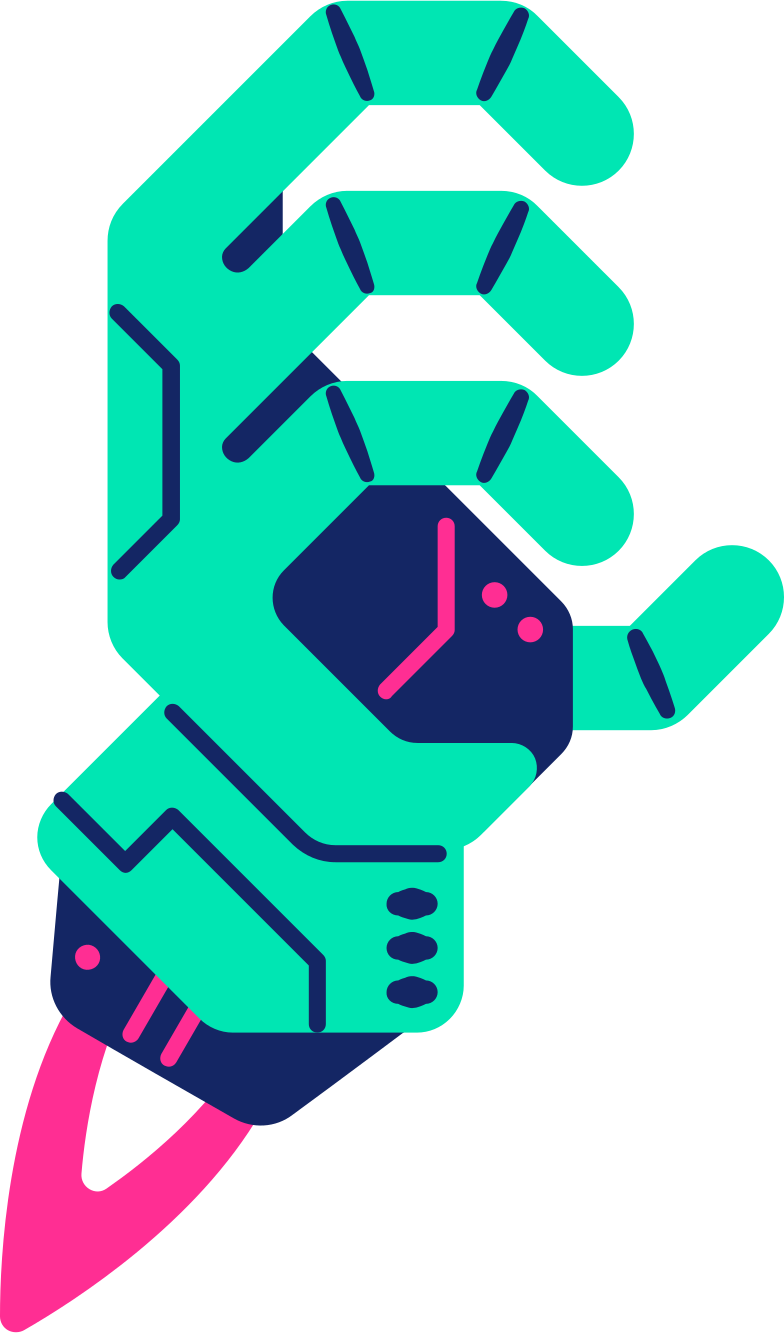 style robot hand Vector images in PNG and SVG | Icons8 Illustrations