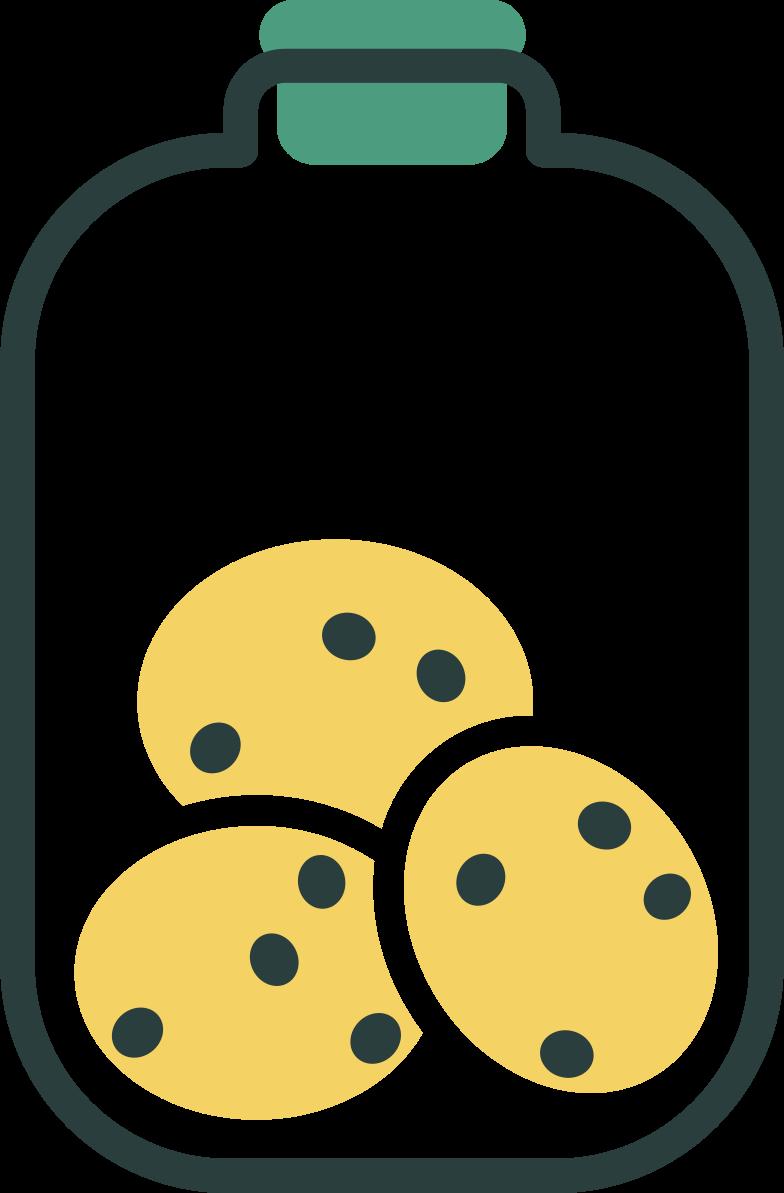 cookie jar Clipart illustration in PNG, SVG