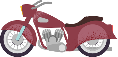 style motorcycle images in PNG and SVG | Icons8 Illustrations