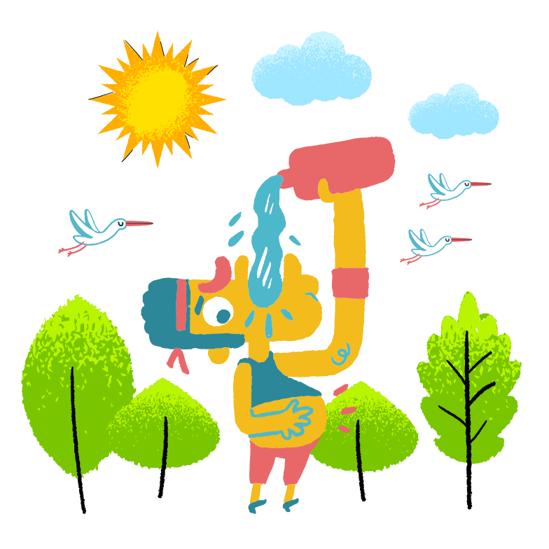 Thirst Clipart illustration in PNG, SVG
