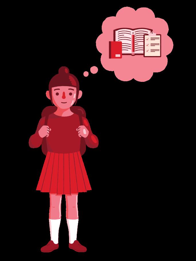 Offline education Clipart illustration in PNG, SVG