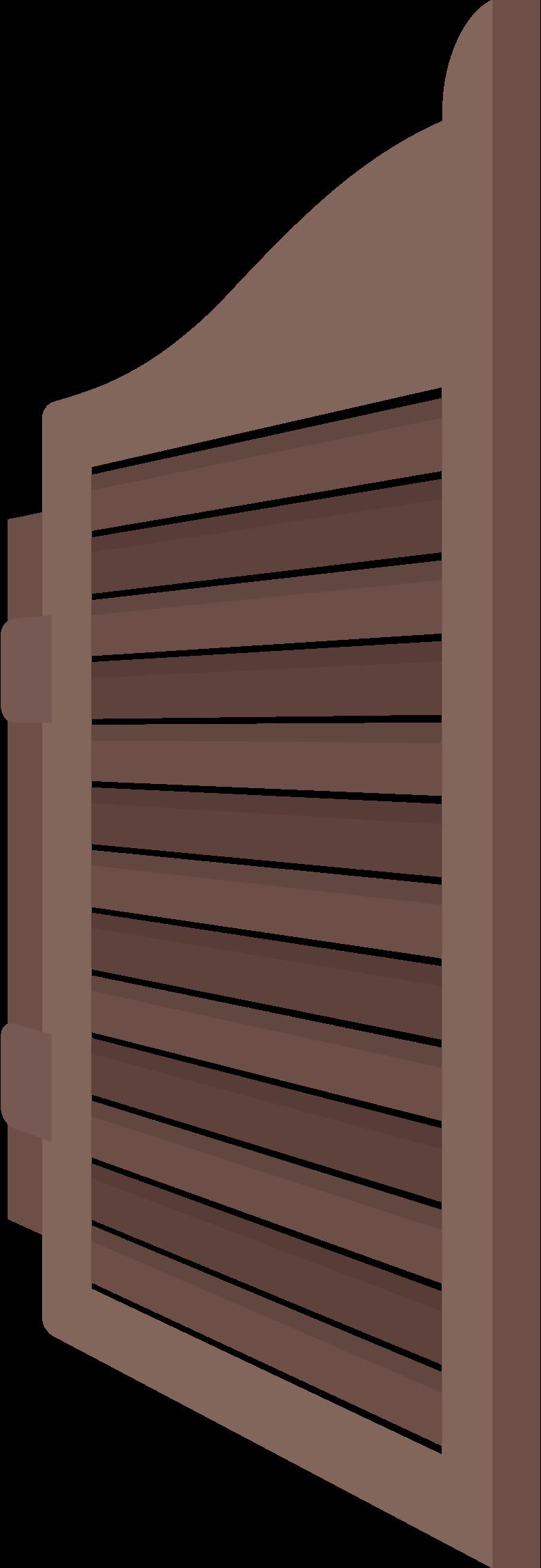 saloon-door-left Clipart illustration in PNG, SVG