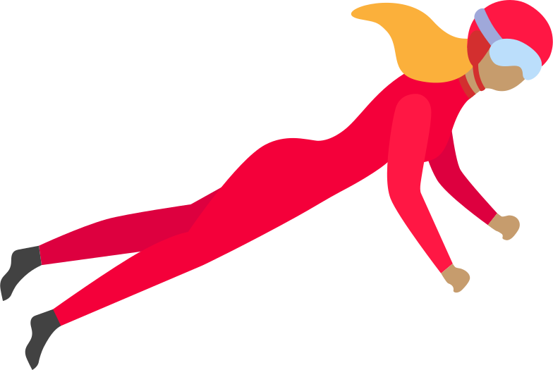 style flying woman Vector images in PNG and SVG | Icons8 Illustrations
