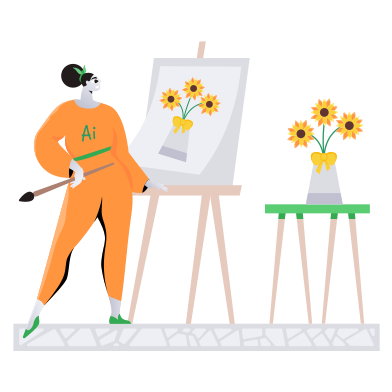 style AI artist images in PNG and SVG | Icons8 Illustrations
