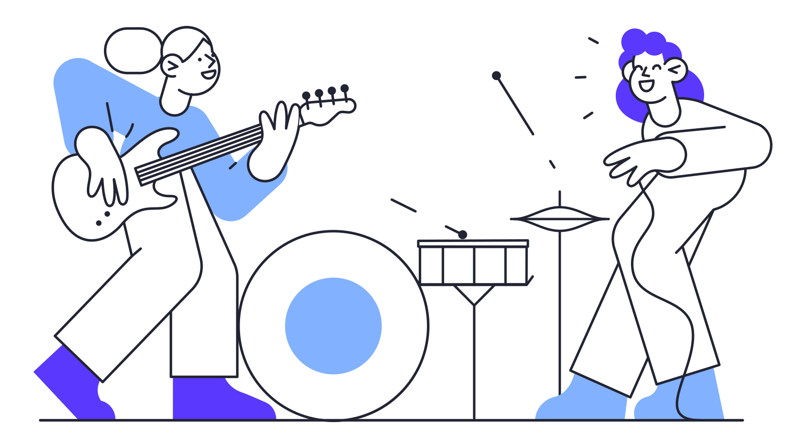 style Music Band Vector images in PNG and SVG | Icons8 Illustrations