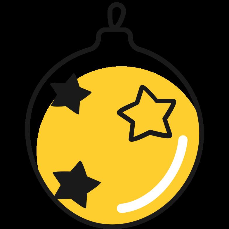 Клипарт Рождественский бал в PNG и SVG