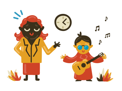 style Professeur de musique images in PNG and SVG | Icons8 Illustrations