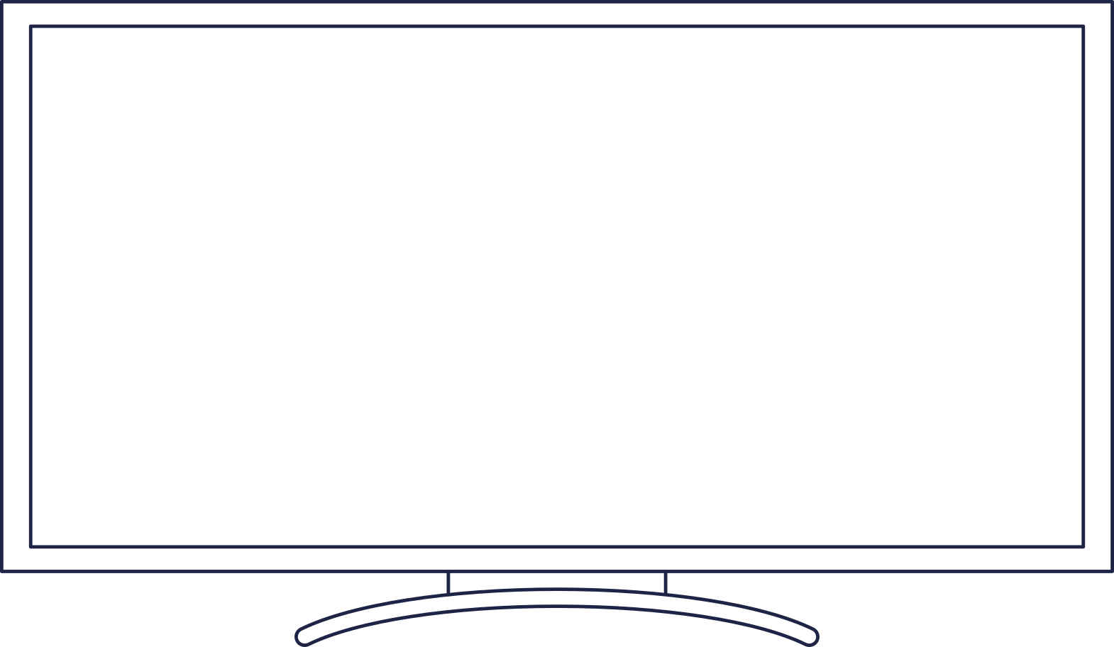 tv monitor Clipart illustration in PNG, SVG