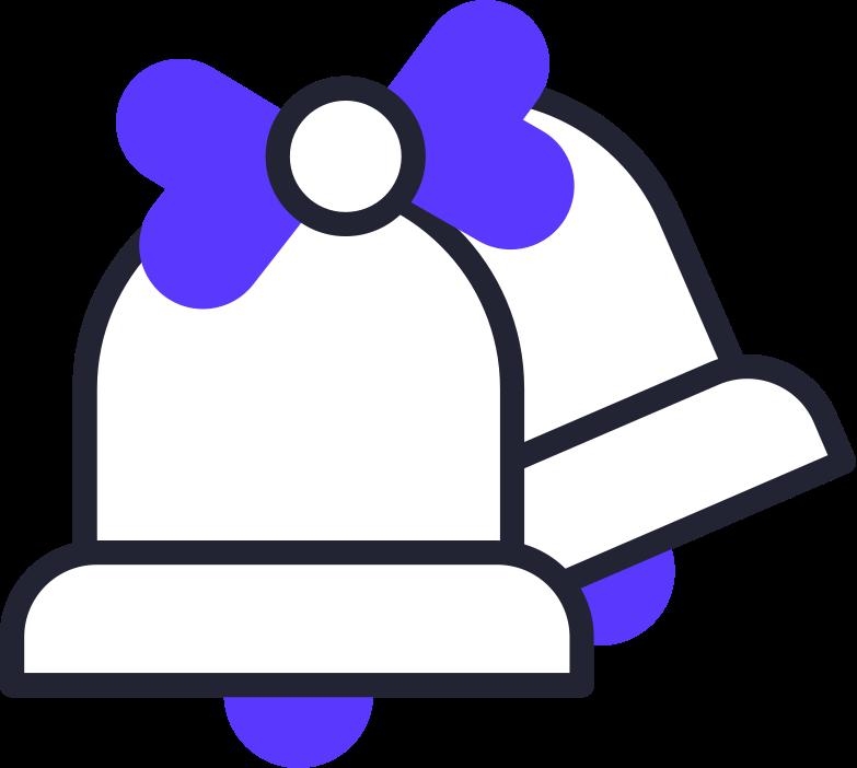 bells Clipart illustration in PNG, SVG