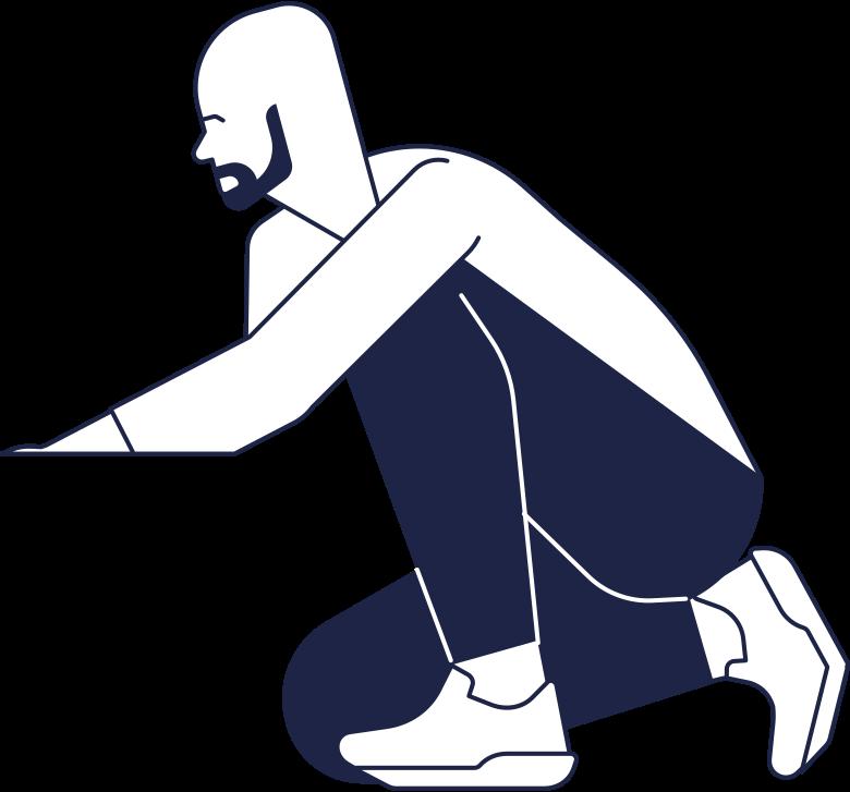man line Clipart illustration in PNG, SVG