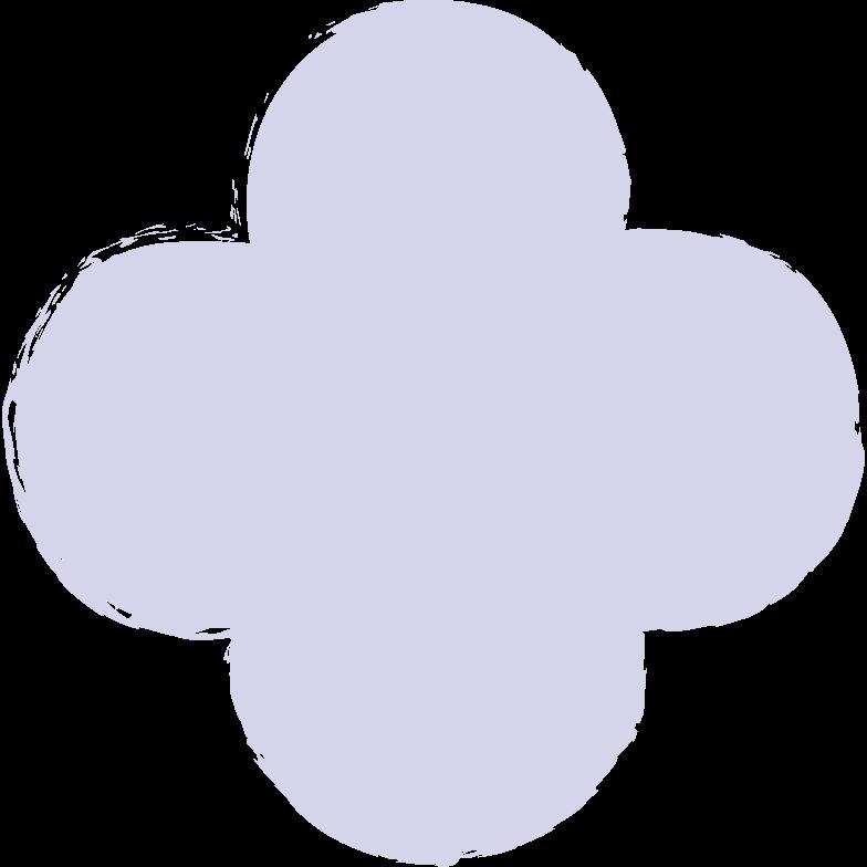 quatrefoil-purple Clipart illustration in PNG, SVG