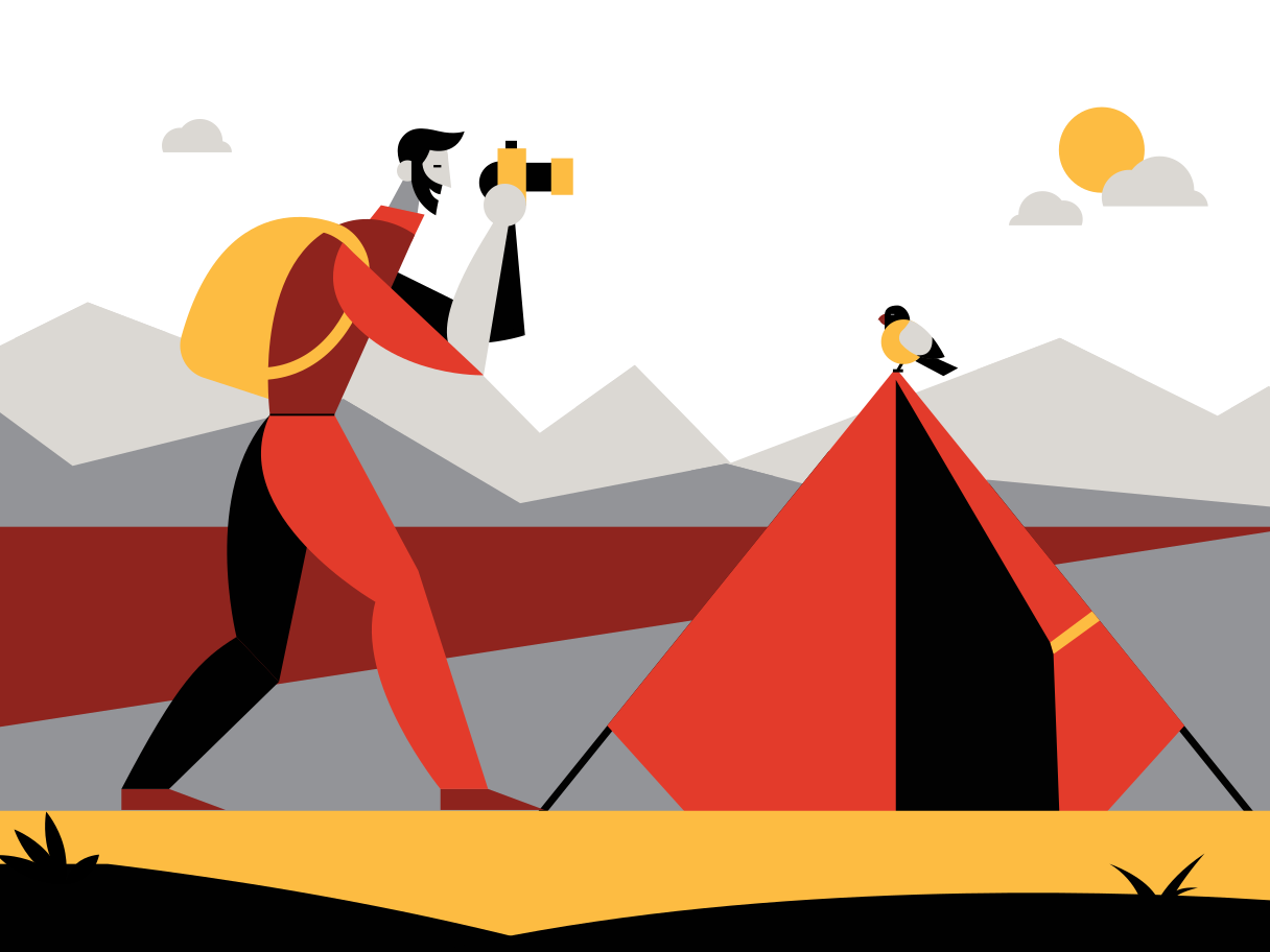 Traveling Clipart illustration in PNG, SVG
