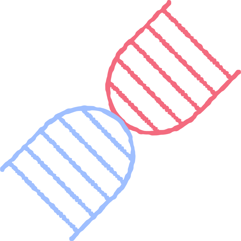 dna molecule Clipart illustration in PNG, SVG
