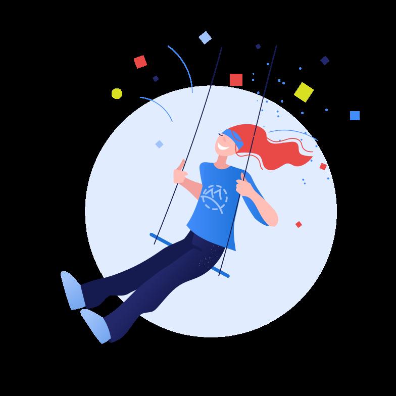 Иллюстрация Счастье в стиле  в PNG и SVG | Icons8 Иллюстрации