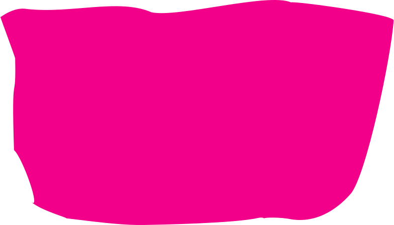 pink restangle with round corner Clipart illustration in PNG, SVG