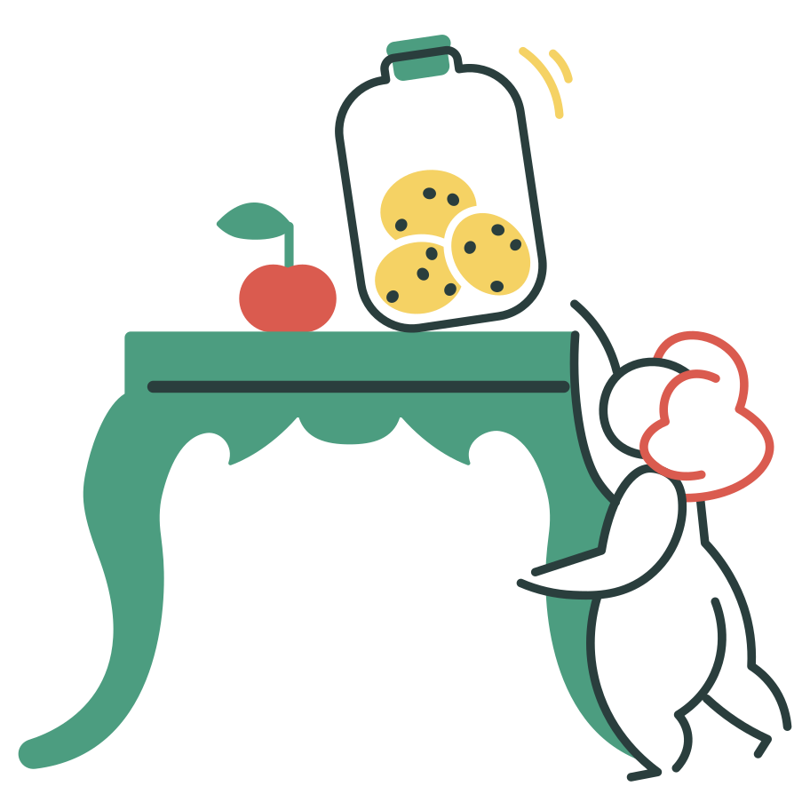 Trying to get a cookie Clipart illustration in PNG, SVG
