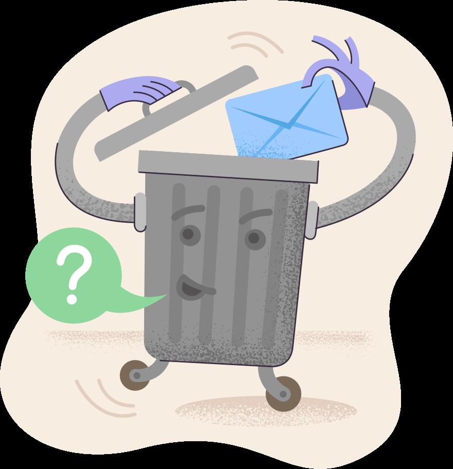 Delete confirmation Clipart illustration in PNG, SVG
