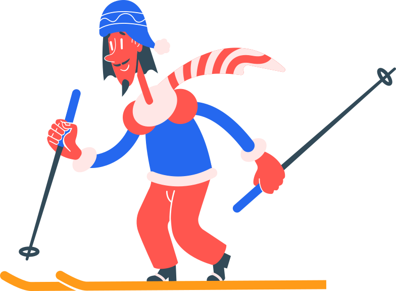 style skier Vector images in PNG and SVG | Icons8 Illustrations