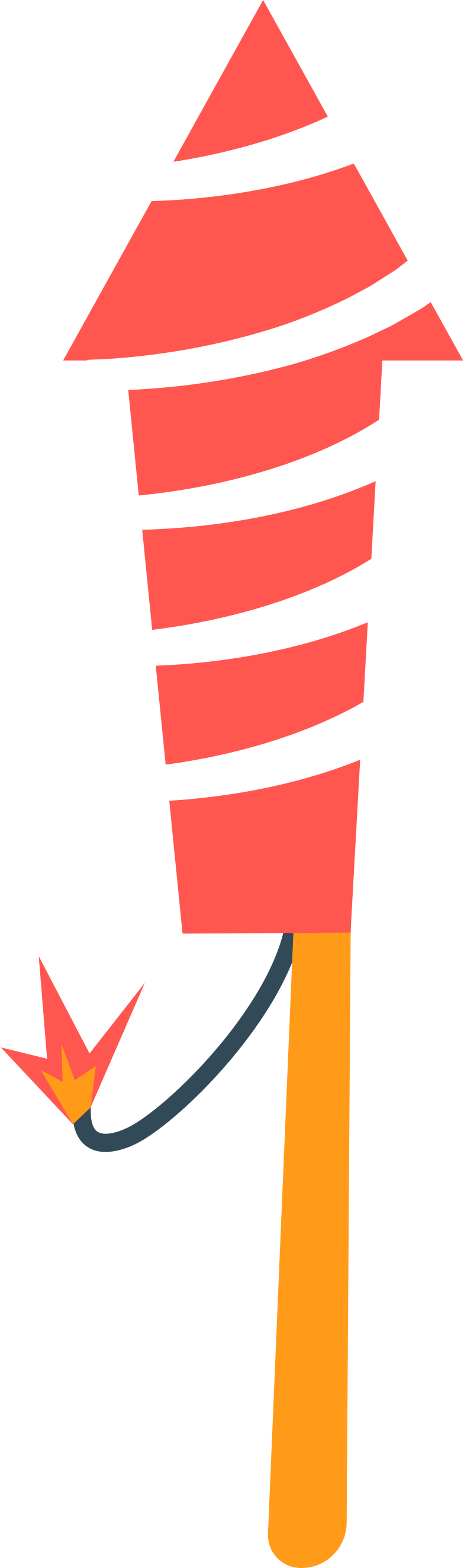 chinese rocket Clipart illustration in PNG, SVG