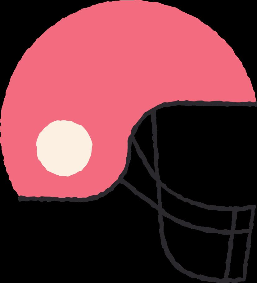 football helmet Clipart illustration in PNG, SVG