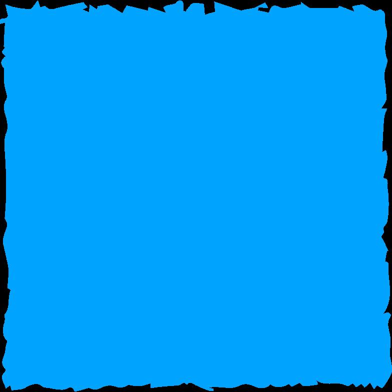 block blue Clipart illustration in PNG, SVG