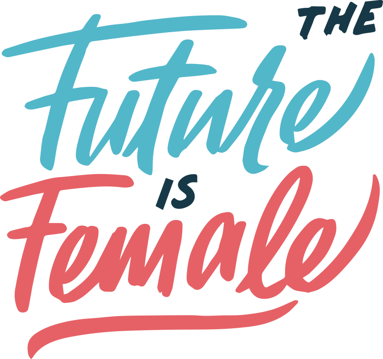 the-future-is-female Clipart illustration in PNG, SVG