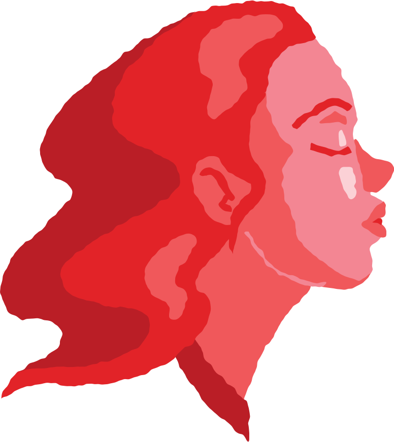 style woman head air kiss Vector images in PNG and SVG | Icons8 Illustrations